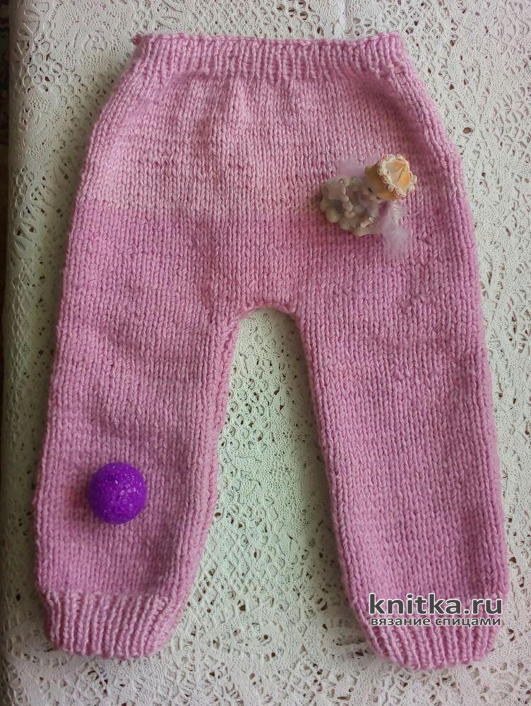 вязаные детские штанишки спицами работа валерии вязание для детей