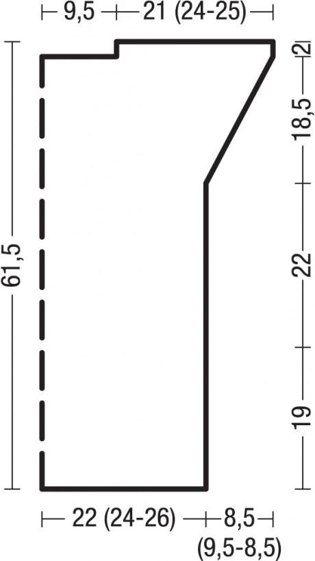 Схемы и выкройка жилета