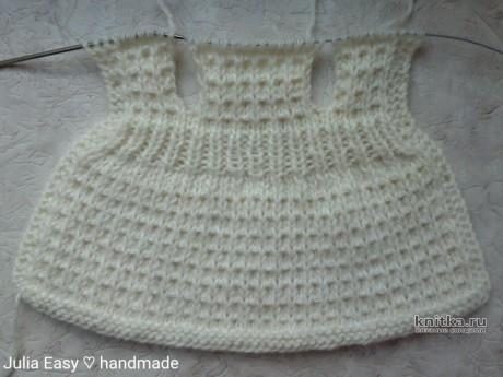 Зимнее пальто с капюшоном для куклы Paola Reina. Работа Julia Easy вязание и схемы вязания