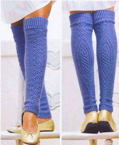 Элегантные гетры для модниц