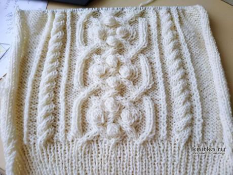 Аранский узор с шишечками от Светланы Лосевой вязание и схемы вязания