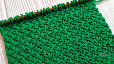 Узор спицами ПЛЕТЕНКА для кардигана, описание и видео-урок вязание и схемы вязания
