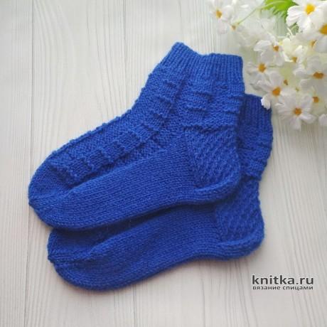 Вязанные спицами носки. Работа moonus_knit вязание и схемы вязания