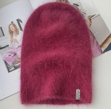 Описание шапки бини из пуха НОРКИ