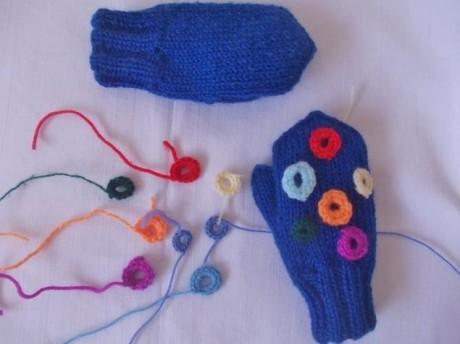 Мастер-класс для начинающих по вязанию детских рукавичек