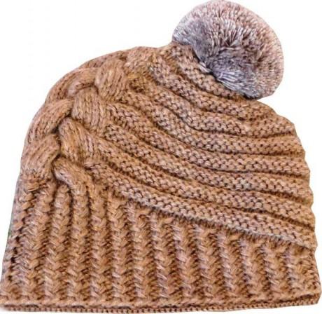 Зимняя шапка по мотивам известного дизайнера Negin Mirsalehi