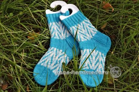 Носки с жаккардовым узором Бораго