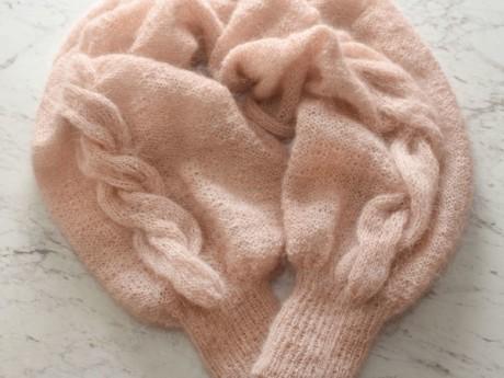 Вяжем болеро-рукава, эффектный аксессуар для женщин