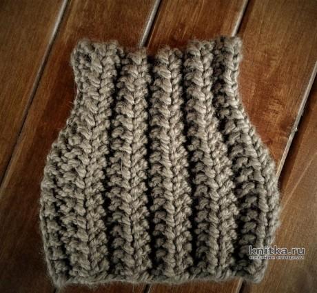 КОТОШАПКА смещённой резинкой за 1 час! Работа essa.handmade вязание и схемы вязания
