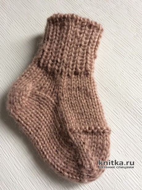 Мастер-класс! Вяжем Бабушкины носки на 5 спицах вязание и схемы вязания