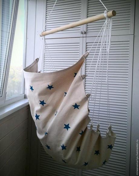 Кресло - гамак своими руками с плетение макраме