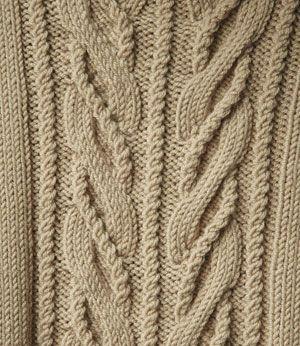 Женский свитер спицами - Wishbone by Norah Gaughan 1