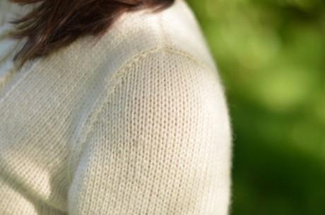 Женский свитер спицами - Wishbone by Norah Gaughan 6