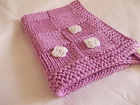 Мастер-класс по вязанию полотенца