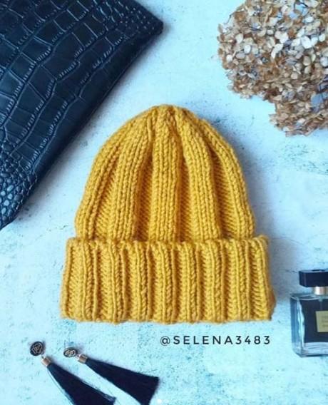 Как связать спицами шапку быстро