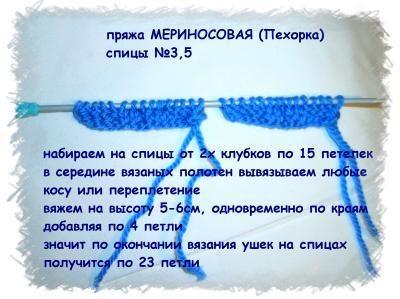 Шапка - ушанка 1