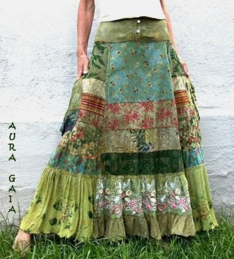 Женская одежда в стиле пэчворк