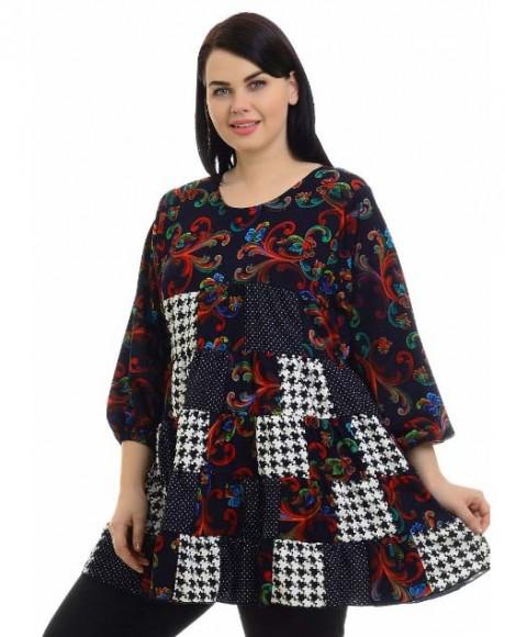 одежда в стиле пэчворк - платья