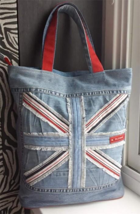 сумки из старых джинсов фото идеи