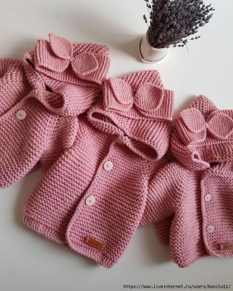 Как связать уютный кардиган спицами для малыша 1