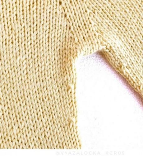 Как связать спицами детские штанишки, описание работы