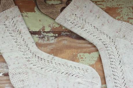 Носки спицами Winter Frost 1