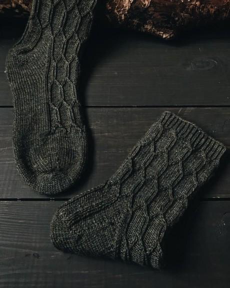 Носочки спицами 0