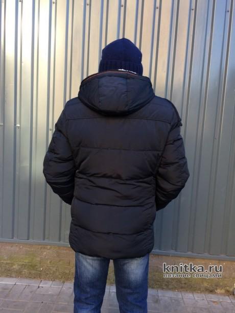 Шапка спицами зимняя мужская из пряжи alize lanagold 800 вязание и схемы вязания