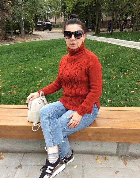 узор коса спицами для свитера и платья