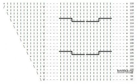 Интересная модель берета спицами с эффектной поперечной косой. Работа Светланы вязание и схемы вязания