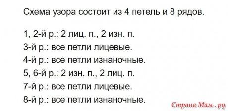 Женский джемпер Реванш спицами 12