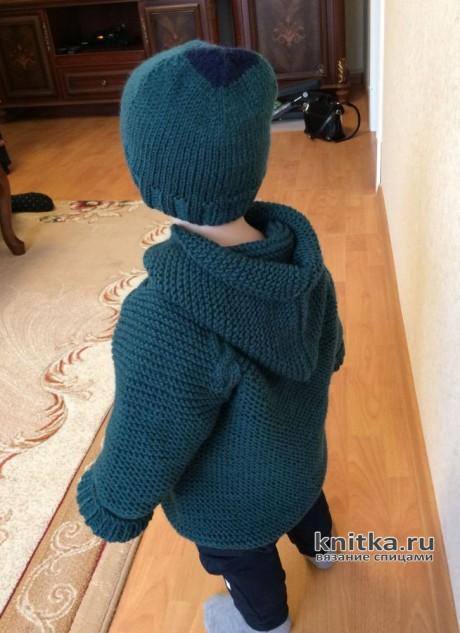 Кардиган для мальчика спицами вязание и схемы вязания