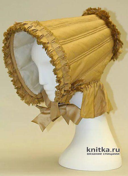 Капор спицами Шоколадница. Модно, как и в 19 веке. Рецепт горячего шоколада вязание и схемы вязания
