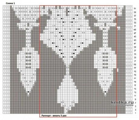 Шаль КОДАМА спицами. Работа Кузьминовой Татьяны вязание и схемы вязания