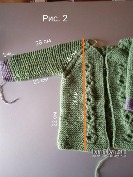Костюм для мальчика спицами на 1 год. Работа Маргариты Шопхоловой вязание и схемы вязания