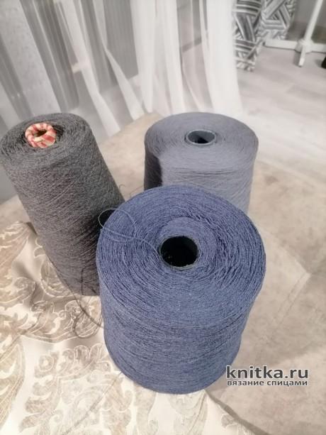 Мужской кардиган спицами. Работа Татьяны Ивановны вязание и схемы вязания