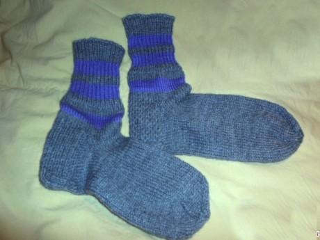 Как связать носки для начинающих с толстой пяткой