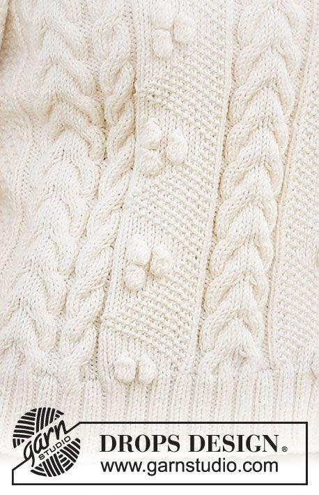 Женский свитер спицами BRIGHT SAND SHORE 1