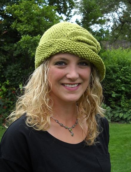 Шляпа спицами Cloche Divine