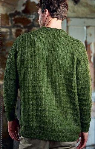 Мужской вязаный свитер SELWOOD 2