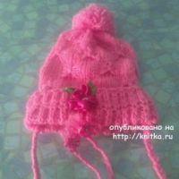 Весенняя шапочка Арина