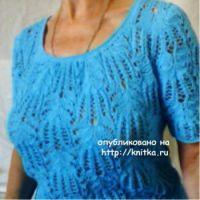 Женский пуловер – работа Анны Луганской