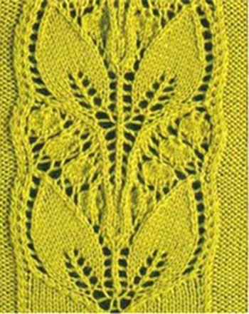 Узоры для вязания спицами. Вязание спицами.