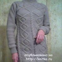 Платье Вальс Бостон – работа Ирины