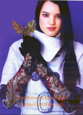 Вязание варежек и перчаток. Часть 3. Вязание спицами.