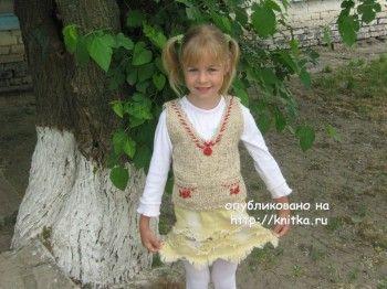 Работы Марины Смирновой. Вязание спицами.