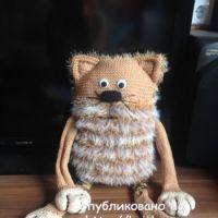 Вязаные игрушки – работы Натальи