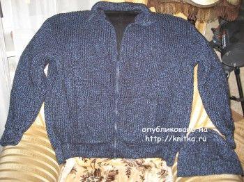 Свитер и куртка спицами. Вязание спицами.