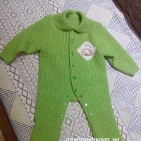 Комбинезон для новорожденного – работа Татьяны