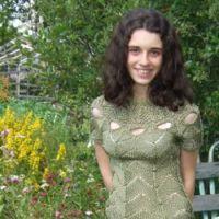 Летняя кофточка спицами – работа Марии Казановой